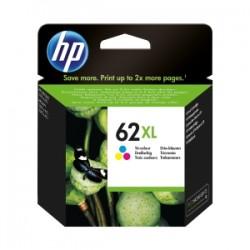HP CARTUCCIA D\'INCHIOSTRO COLORE C2P07AE 62 XL 415 COPIE  ORIGINALE
