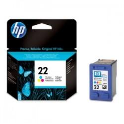 HP CARTUCCIA D\'INCHIOSTRO COLORE C9352AE 22 165 COPIE 6ML  ORIGINALE