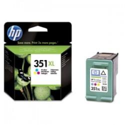 HP CARTUCCIA D\'INCHIOSTRO COLORE CB338EE 351 XL 580 COPIE  ORIGINALE