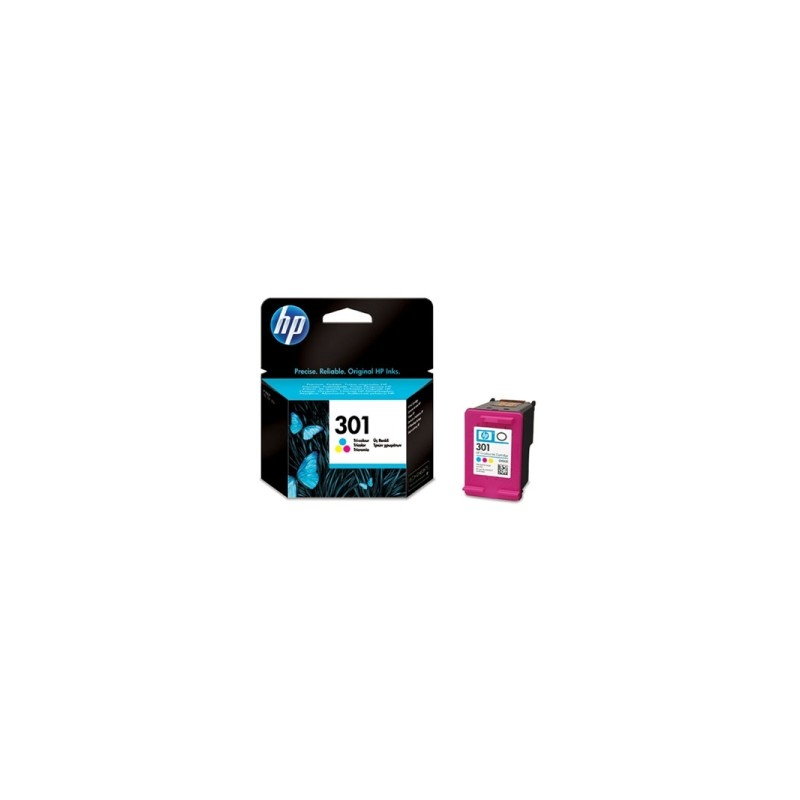 HP CARTUCCIA D\'INCHIOSTRO COLORE CH562EE 301 165 COPIE 3ML  ORIGINALE