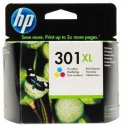 HP CARTUCCIA D\'INCHIOSTRO COLORE CH564EE 301 XL 330 COPIE 6ML  ORIGINALE