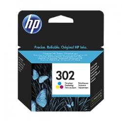 HP CARTUCCIA D\'INCHIOSTRO DIFFERENTI COLORI F6U65AE 302 165 COPIE  ORIGINALE