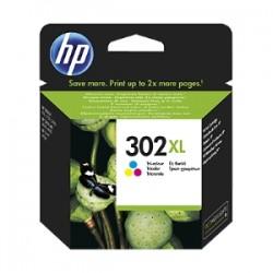 HP CARTUCCIA D\'INCHIOSTRO DIFFERENTI COLORI F6U67AE 302 XL 330 COPIE  ORIGINALE