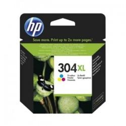 HP CARTUCCIA D\'INCHIOSTRO DIFFERENTI COLORI N9K07AE 304 XL 300 COPIE  ORIGINALE