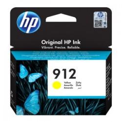 HP CARTUCCIA D\'INCHIOSTRO GIALLO 3YL79AE 912 315 COPIE  ORIGINALE