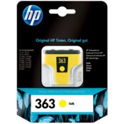 HP CARTUCCIA D\'INCHIOSTRO GIALLO C8773EE 363 500 COPIE  ORIGINALE