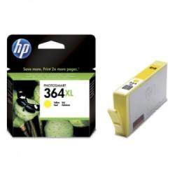 HP CARTUCCIA D\'INCHIOSTRO GIALLO CB325EE 364 XL 750 COPIE 9ML  ORIGINALE