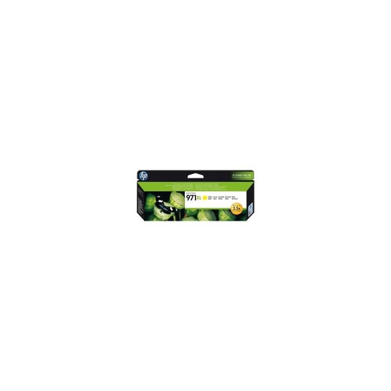 HP CARTUCCIA D\'INCHIOSTRO GIALLO CN628AE 971 XL 6600 COPIE  ORIGINALE