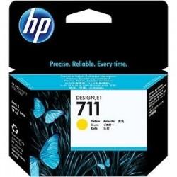 HP CARTUCCIA D\'INCHIOSTRO GIALLO CZ132A 711 29ML  INK CARTRIDGE, STANDARD ORIGINALE