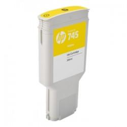 HP CARTUCCIA D\'INCHIOSTRO GIALLO F9K02A 745 300ML  ORIGINALE
