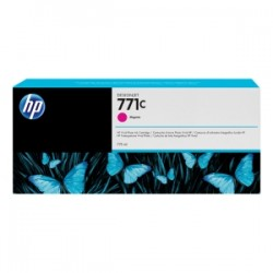 HP CARTUCCIA D\'INCHIOSTRO MAGENTA B6Y09A 771C 775ML  ORIGINALE