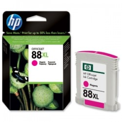 HP CARTUCCIA D\'INCHIOSTRO MAGENTA C9392AE 88 XL 1700 COPIE  ORIGINALE