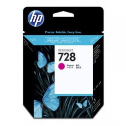 HP CARTUCCIA D\'INCHIOSTRO MAGENTA F9J62A 728 40ML  ORIGINALE
