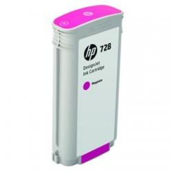 HP CARTUCCIA D\'INCHIOSTRO MAGENTA F9J66A 728 130ML  ORIGINALE
