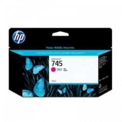 HP CARTUCCIA D\'INCHIOSTRO MAGENTA F9J95A 745 130ML  ORIGINALE