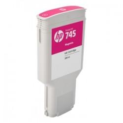 HP CARTUCCIA D\'INCHIOSTRO MAGENTA F9K01A 745 300ML  ORIGINALE