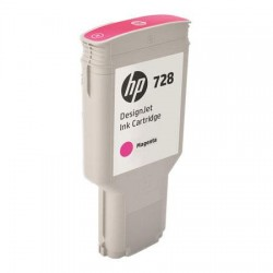 HP CARTUCCIA D\'INCHIOSTRO MAGENTA F9K16A 728 300ML  ORIGINALE