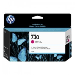 HP CARTUCCIA D\'INCHIOSTRO MAGENTA P2V63A 730 130ML  ORIGINALE