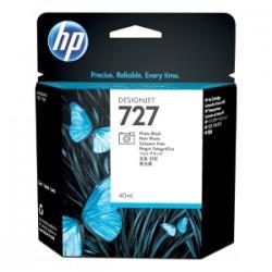 HP CARTUCCIA D\'INCHIOSTRO NERO (FOTO) B3P17A 727 40ML