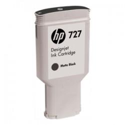 HP CARTUCCIA D\'INCHIOSTRO NERO (OPACO) C1Q12A 727 300ML  ORIGINALE