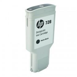 HP CARTUCCIA D\'INCHIOSTRO NERO (OPACO) F9J68A 728 300ML  ORIGINALE