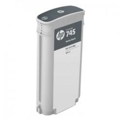 HP CARTUCCIA D\'INCHIOSTRO NERO (OPACO) F9J99A 745 130ML  ORIGINALE