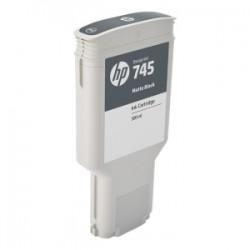 HP CARTUCCIA D\'INCHIOSTRO NERO (OPACO) F9K05A 745 300ML  ORIGINALE