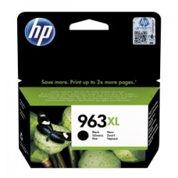 HP CARTUCCIA D\'INCHIOSTRO NERO 3JA30AE 963 XL 2000 COPIE  ORIGINALE