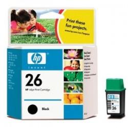 HP CARTUCCIA D\'INCHIOSTRO NERO 51626AE 26 40ML