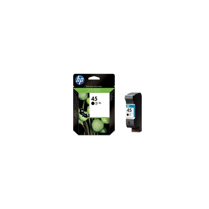 HP CARTUCCIA D\'INCHIOSTRO NERO 51645AE 45 930 COPIE 42ML  ORIGINALE
