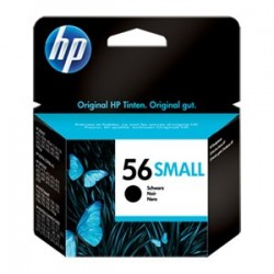 HP CARTUCCIA D\'INCHIOSTRO NERO C6656GE 56 SMALL ~190 COPIE