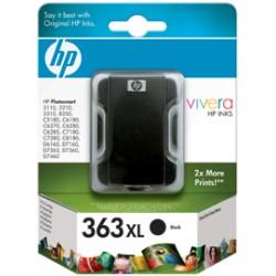 HP CARTUCCIA D\'INCHIOSTRO NERO C8719EE 363 XL ~1000 COPIE 17ML