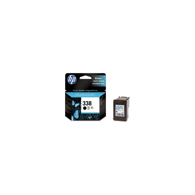 HP CARTUCCIA D\'INCHIOSTRO NERO C8765EE 338 480 COPIE 11ML  ORIGINALE