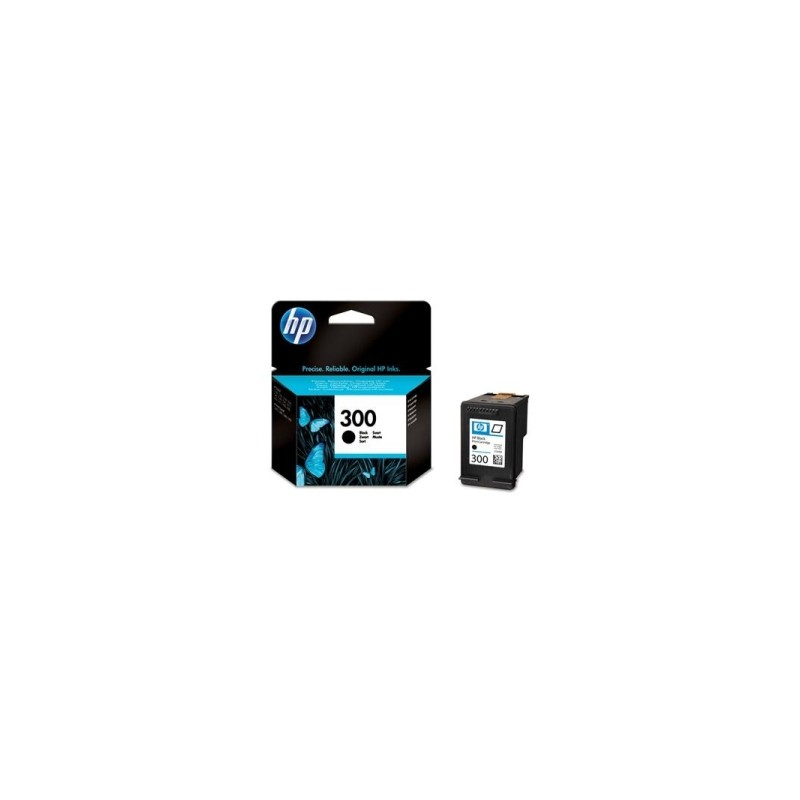 HP CARTUCCIA D\'INCHIOSTRO NERO CC640EE 300 200 COPIE  ORIGINALE