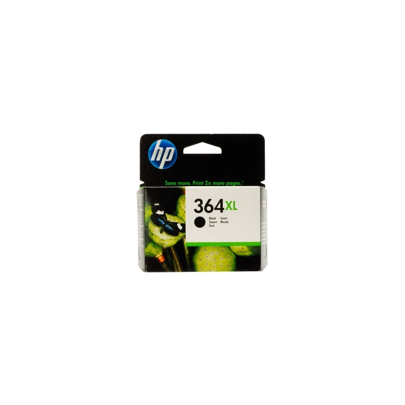 HP CARTUCCIA D\'INCHIOSTRO NERO CN684EE 364 XL 550 COPIE 14ML  ORIGINALE