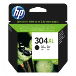 HP CARTUCCIA D\'INCHIOSTRO NERO N9K08AE 304 XL 300 COPIE  ORIGINALE