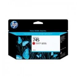 HP CARTUCCIA D\'INCHIOSTRO ROSSO (CROMATICO)  F9K00A 745 130ML  ORIGINALE