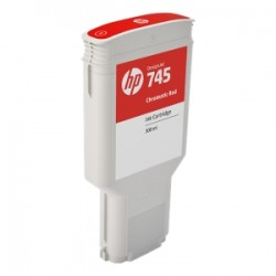 HP CARTUCCIA D\'INCHIOSTRO ROSSO (CROMATICO) F9K06A 745 300ML  ORIGINALE