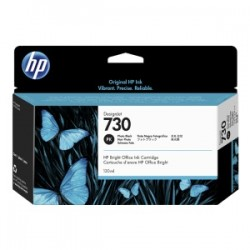 HP CARTUCCIA D\'INCHIOSTRO SCHWARZ (FOTO) P2V67A 730 130ML  ORIGINALE