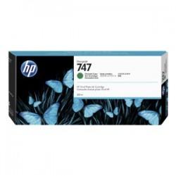 HP CARTUCCIA D\'INCHIOSTRO VERDE CROMATO P2V84A 747 300ML  ORIGINALE