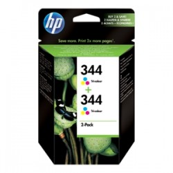 HP MULTIPACK DIFFERENTI COLORI C9505EE 344 2X C9363EE (HP 344) ORIGINALE
