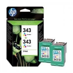 HP MULTIPACK DIFFERENTI COLORI CB332EE 343 2X C8766EE (HP343) ORIGINALE