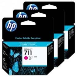 HP MULTIPACK MAGENTA CZ135A 711 3-PACK 29 ML ORIGINALE