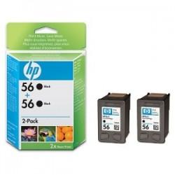 HP MULTIPACK NERO C9502AE 56 2X C6656AE