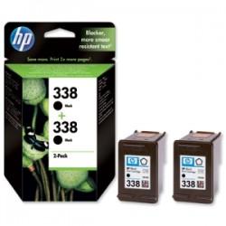 HP MULTIPACK NERO CB331EE 338 2X C8765EE (HP 338) ORIGINALE