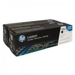 HP MULTIPACK NERO CB540AD 125A PACCO DOPPIO A 2.200 PAG. ORIGINALE