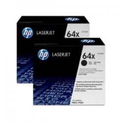 HP MULTIPACK NERO CC364XD 64X CONFEZIONE DOPPIA 24.000 P. ORIGINALE