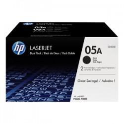 HP MULTIPACK NERO CE505D 05A CONFEZIONE DOPPIA DA 2.300 PAG. CAD. ORIGINALE
