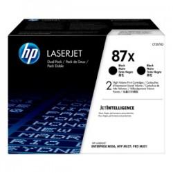 HP MULTIPACK NERO CF287XD 87X  ORIGINALE
