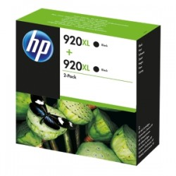 HP MULTIPACK NERO D8J47AE 920 XL 2 X HP 920 XL NERO